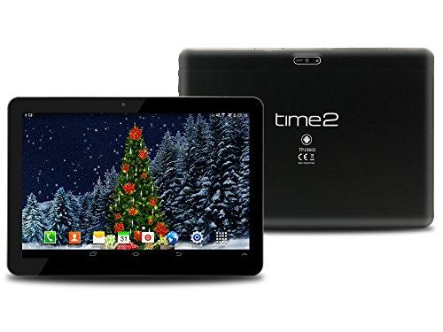 10,1 Zoll Tablet PC, Android 7.0 Nougat, Phablet 3G Tablet, IPS-Bildschirm 1280x800, WiFi Tablet, GPS, Dual-SIM, Quad Core 1 GB RAM 16 GB Speicher 128 GB externer Speicher [Google zertifiziert]