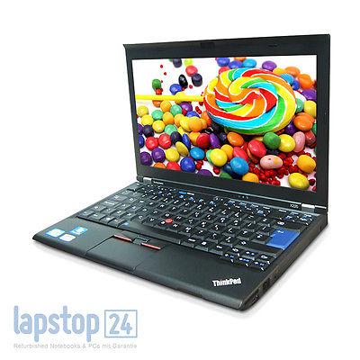 Lenovo ThinkPad X220 Core i5-2520M 2,5GHz 4GB 320GB Windows7 Pro Webcam WLAN B'