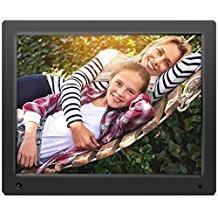 Nixplay 38,1 cm (15 Zoll) WLAN- & Cloudfähiger digitaler Bilderrahmen. Fotos synchronisieren über App, E-Mail, Facebook, Dropbox, Instagram, Picasa. Übertragung auch über SD-Karten und USB.