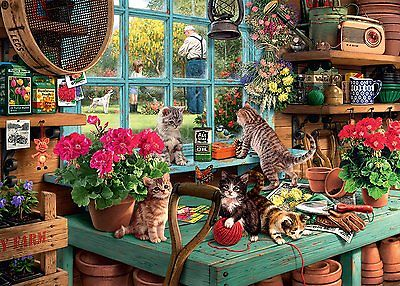 Puzzle Ravensburger 1000 Teile - Is he watching? (53873)