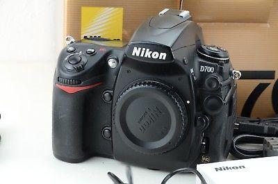 Nikon D D700 schwarz Gehäuse, FX, 83381 Auslösungen, OVP