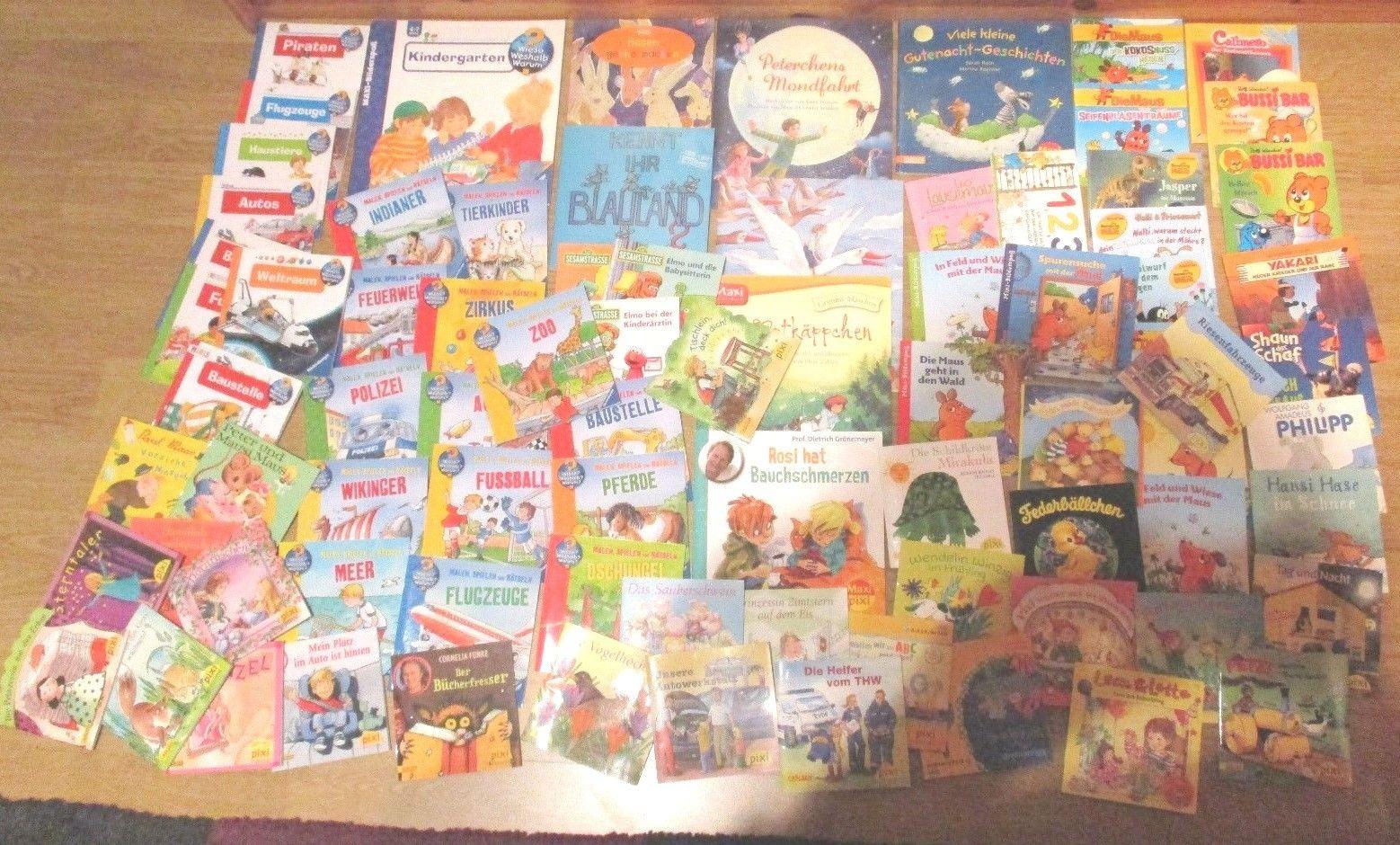94  x pixi und verschiedene andere Bücher / Hedte , MAXI & MINI - SIEHE BILDER -