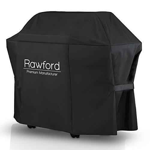 Universelle Grillabdeckung von Rawford [147cm x 61cm x 122cm] - 100% witterungsbeständige Abdeckhaube für den Grill …