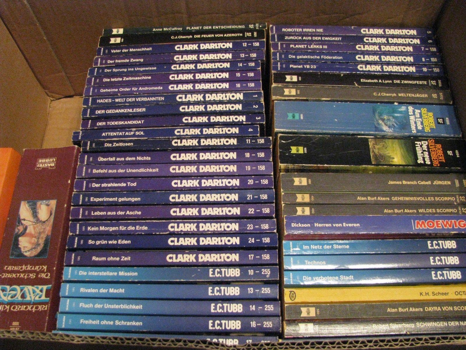 über 60 Science Fiction und Fantasy Bücher