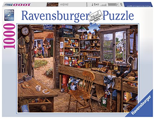 Ravensburger Puzzle 19790 Opas Schuppen