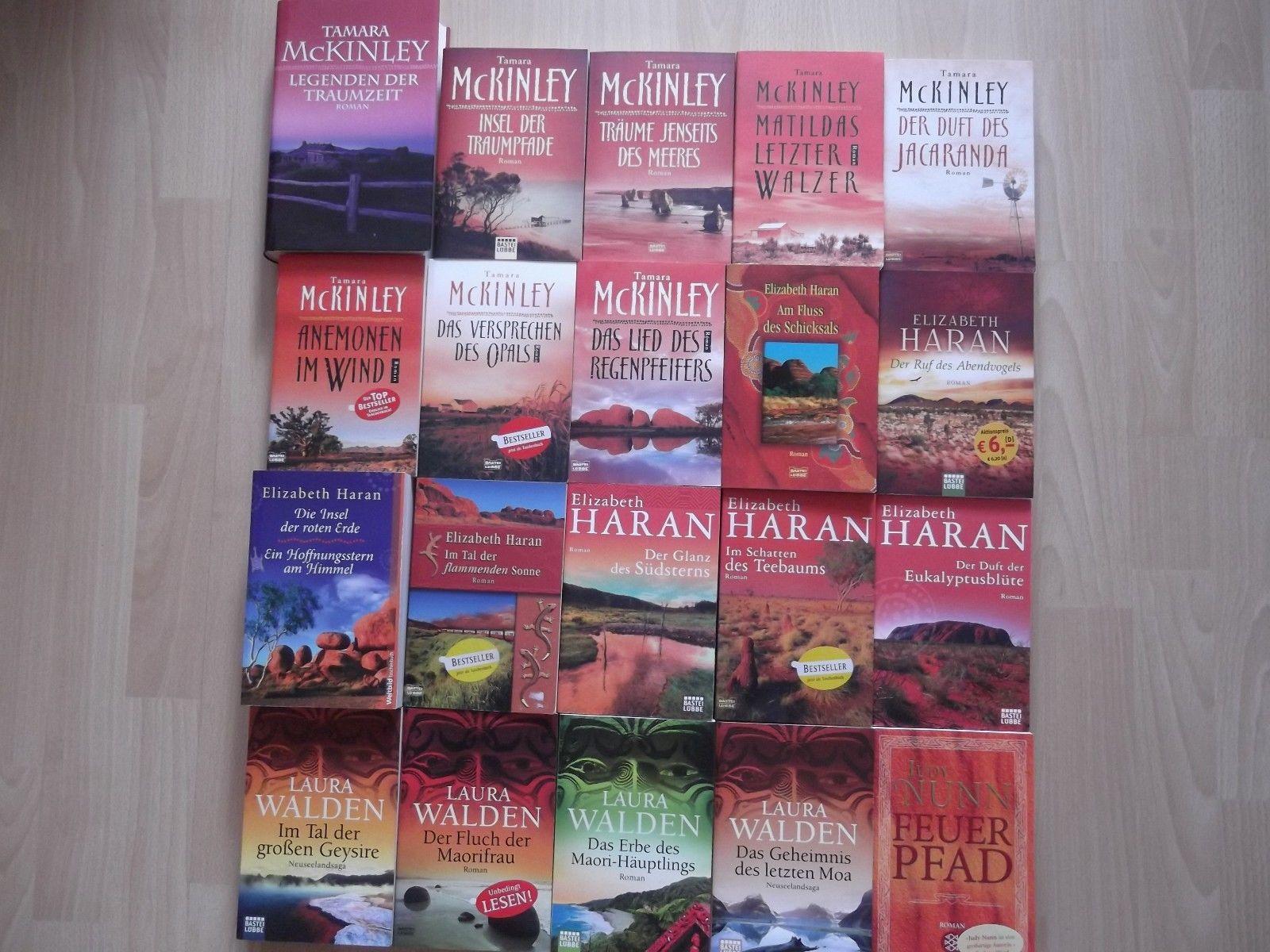 Bücherpaket 20 Romane Tamara Mc Kinley, Elizabeth Haran, Laura Walden u. a.