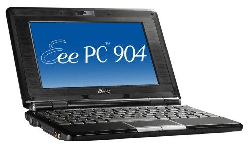 Asus Eee PC 904HD 22,6 cm (8,9 Zoll) WSVGA Netbook (Intel Celeron-M 353 1,0GHz, 1GB RAM, 160GB HDD, Intel GMA 900, Windows XP Home) schwarz
