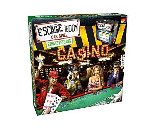 Noris Spiele 606101641 Escape Room Erweiterung Casino, Nur Mit Chrono Decoder Spielbar