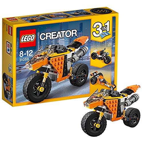 Lego 31059 Creator Straßenrennmaschine, Bausteinspielzeug