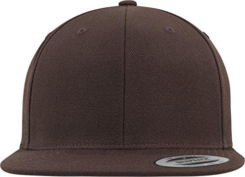 Flexfit Classic Snapback Cap, Mütze Unisex Kappe für Damen und Herren, One Size, plus extra Kindergröße