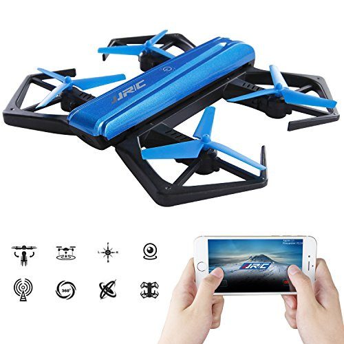 SGILE Faltbare Quadcopter Drone mit HD Kamera (Smartphone kompatibel), Wifi Drohne Hexacopter mit Fernbedienung Geschenk