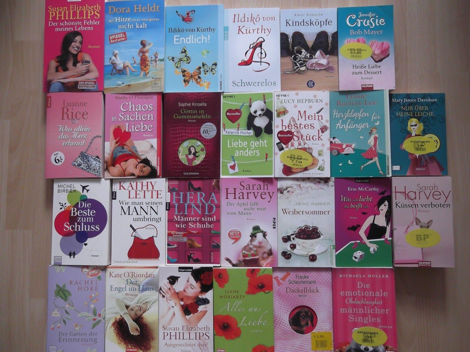 Bücherpaket 26 lustige Romane Dora Heldt, Hera Lindt, Sarah Harvey u. a.