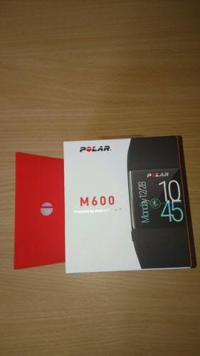 Polar M600, Pulsmessung am Handgelenk, schwarz, Smartwatch