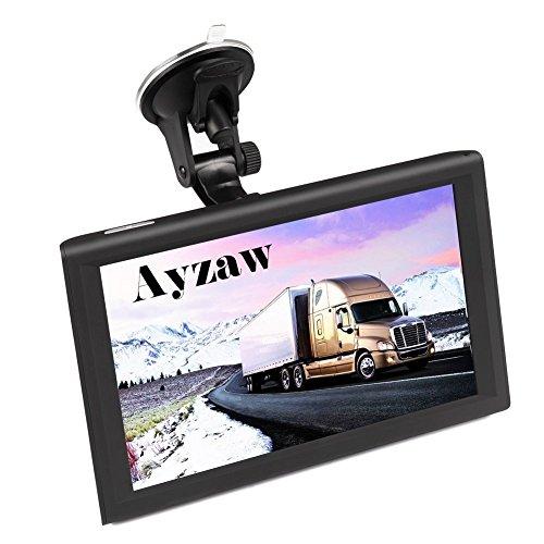 9 Zoll Europe Traffic GPS Navi Navigationsgerät mit kostenlosen lebenslangen Kartenupdates ganz Europa für PKW Bus KFZ Auto Car Touch Screen Multi-Sprache Navigation GPS Devices,16GB