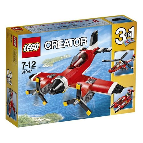 Lego 31047 Creator Propeller-Flugzeug, Bausteinspielzeug, Fahrzeugbauset