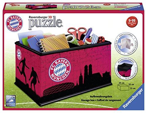 Ravensburger 11216 - Aufbewahrungsbox: FC Bayern 3D-Puzzle