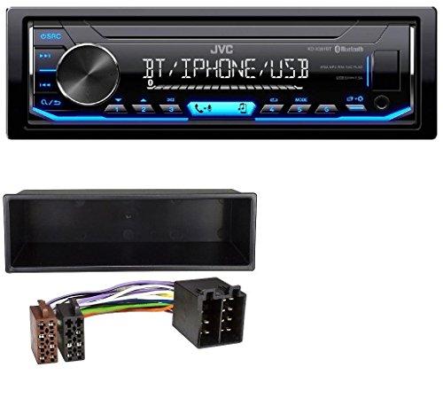 JVC KD-X351BT MP3 Bluetooth USB AUX Autoradio für Mercedes A-Klasse M-Klasse Vaneo VW Passat Golf Bora