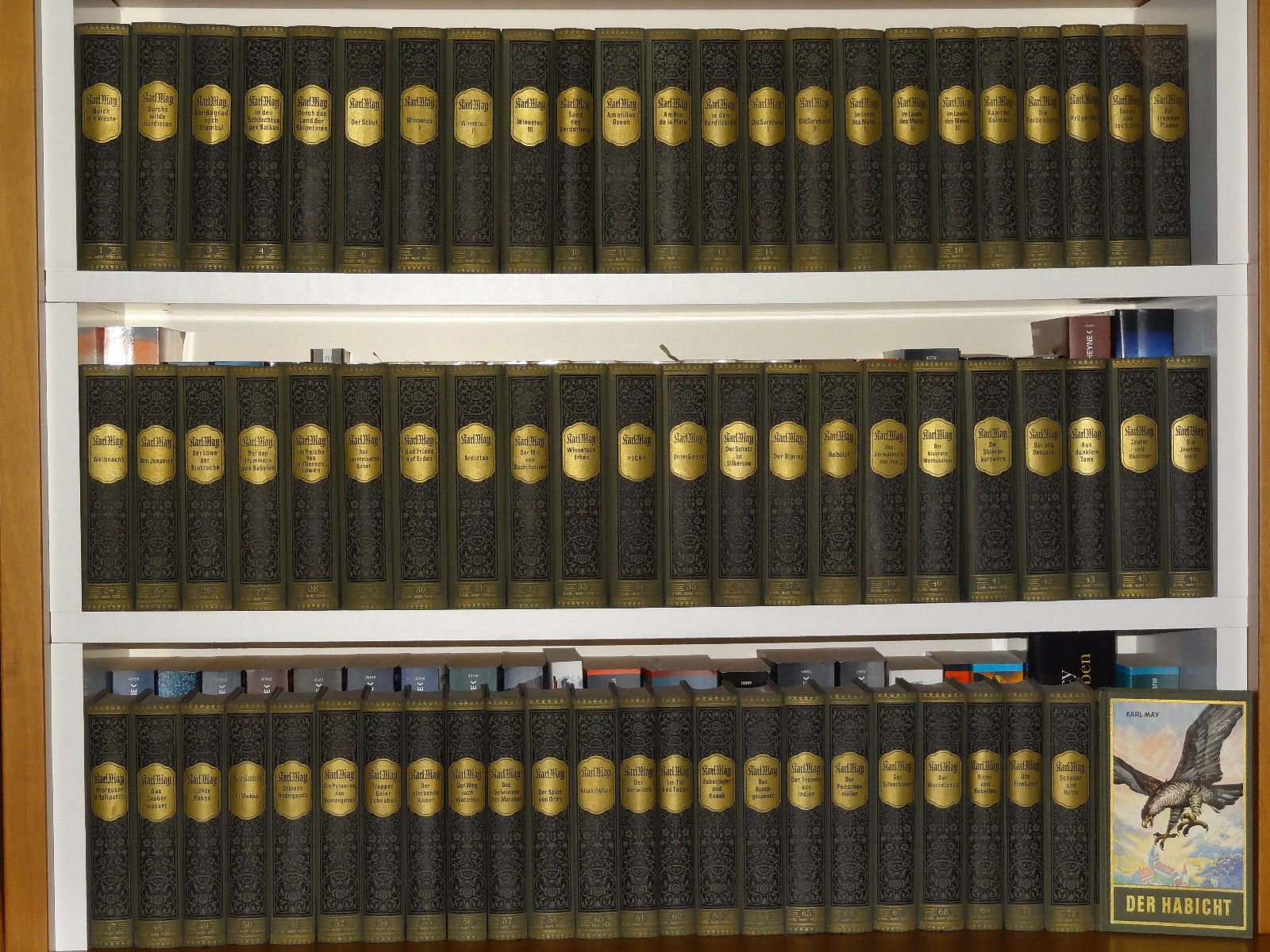 Alte Karl May Sammlung 69 Stück, Hardcover