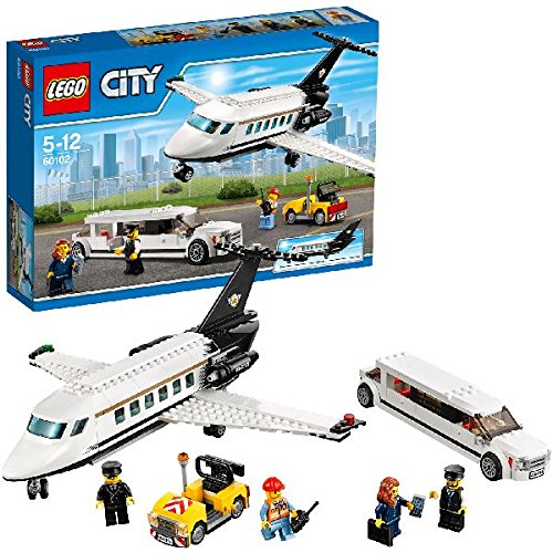 Lego 60102 City Flughafen VIP-Service, Bausteinspielzeug