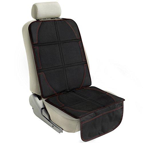 AUTOWN AT-SP-01 Autositz Auflage Unterlage Autositzschutz (48 x 120cm, Schwarz)