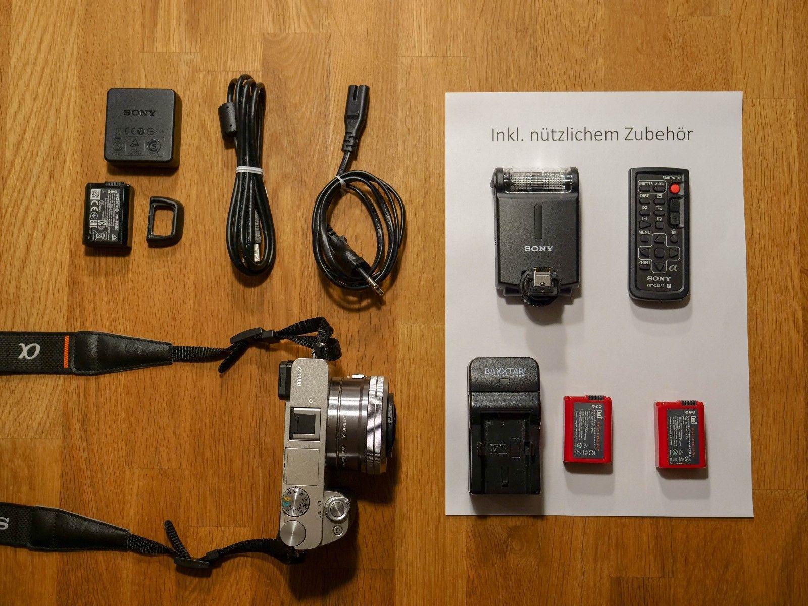 Sony Alpha 6000 Systemkamera (24 Megapixel, 3