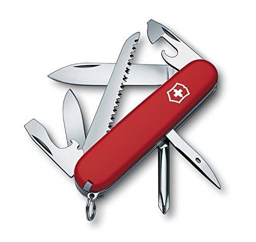 Victorinox Offiziermesser Hiker 7 Funktionen, rot/silber, 1.4613-033