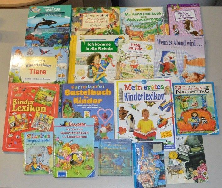Kinder Bücher Paket  17 Stk. Junge Leser Sammlung  N1