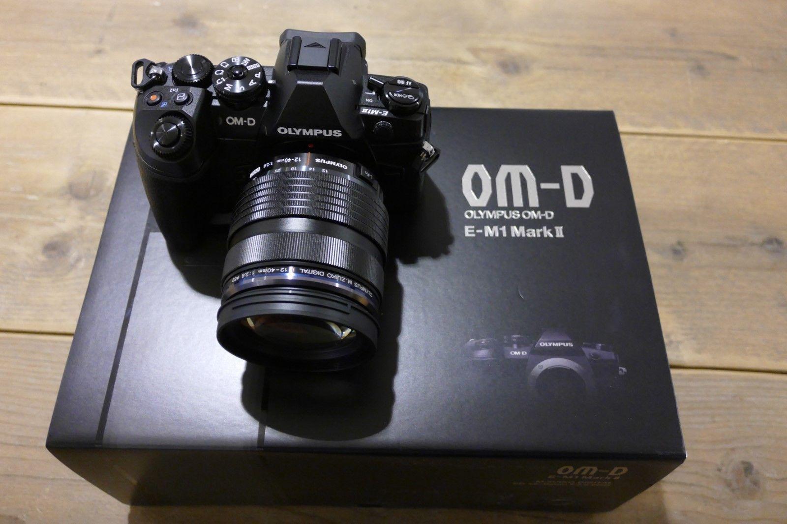 Olympus OM-D E-M 1 Mark II Kit inkl. 12-40 Pro