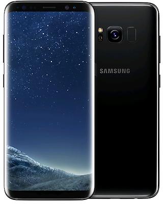 Original Samsung GALAXY S8 64GB SM-G950F Schwarz Ohne Simlock Android LTE NEU