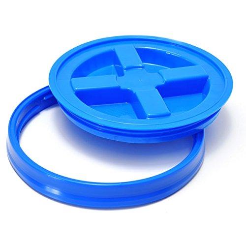 GritGuard GAMMA SEAL LID blau passend für Grit Guard Wash Buckets / Auf Deutsch: Eimerdeckel / Deckel für Grit Guard Eimer, auch passend für Chemical Guys, Meguiar´s oder andere Grit Guard US Eimer