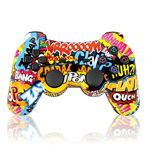 Wireless Doppelte Vibration SixAxis Game Controller Bluetooth Gamepad Joystick für Sony PS3 Playstation 3