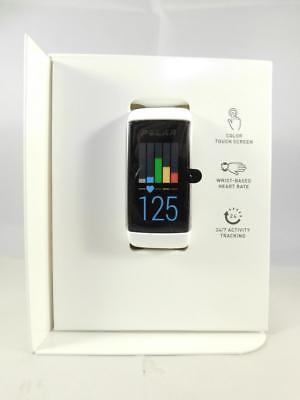 Polar Fitnesstracker A360 Fitnessarmband Smartwatch Weiß Größe M