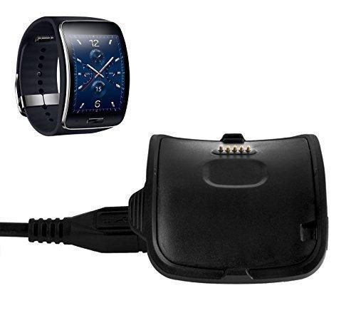BlueBeach® Hochwertiges USB Ladestation für Samsung Gear S R750 Ersatz Ladegerät