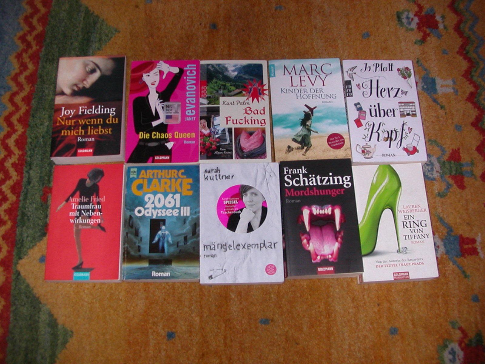 Buchpaket: ca. 40 Stück Romane -  s.h. Bilder