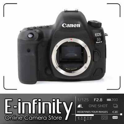 BRANDNEU Canon EOS 5D Mark IV DSLR 30.4MP Full-Frame Camera (Body Only)