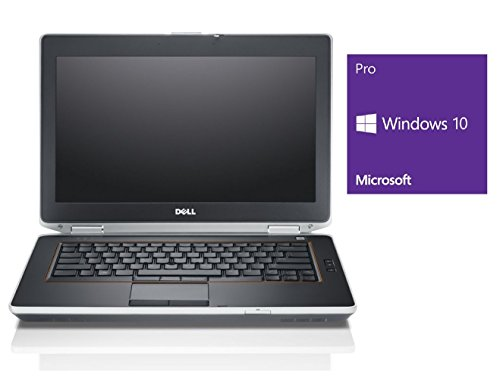 Dell Latitude E6420 Notebook | 14 Zoll Display | Intel Core i5-2540M @ 2,6 GHz | 4GB DDR3 RAM | 240GB SSD | DVD-Brenner | Windows 10 Pro vorinstalliert (Zertifiziert und Generalüberholt)