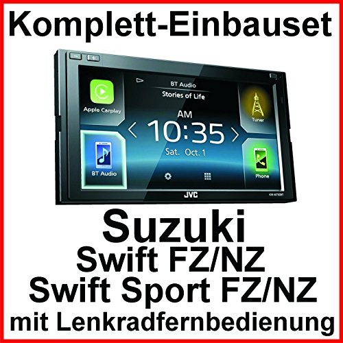 Komplett-Set Suzuki Swift Sport FZ NZ JVC KW-M730BT Bluetooth Carplay Android Auto USB MP3 Autoradio