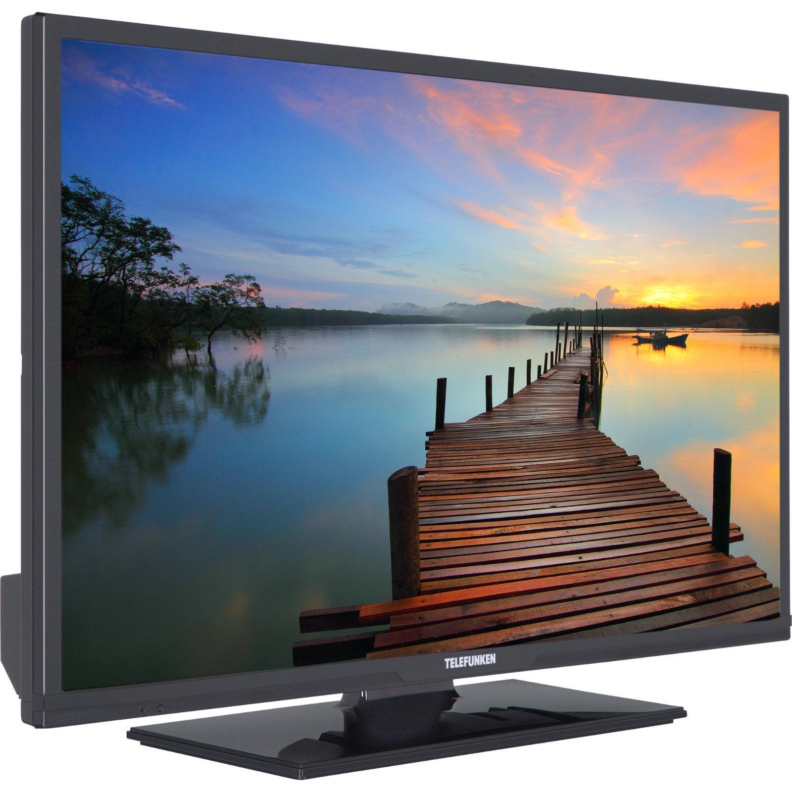 Telefunken D32F2518YRB 32 Zoll Full-HD Fernseher Triple Tuner