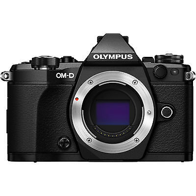 Olympus OM-D E-M5 Mark II 16.0MP Digitalkamera - Schwarz Body only