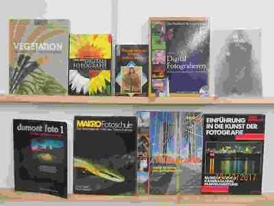 37 Bücher Fotografie Foto Photografie Fotobildbände Fotografie Fotobearbeitung