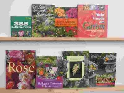 36 Bücher Garten gärtnern Gartengestaltung Gartenpflege Gartenkunst