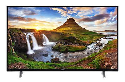 Telefunken XU50D401 4K Ultra HD Fernseher 50 Zoll TV Triple-Tuner Smart TV WLAN