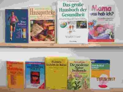 40 Bücher Gesundheit Medizin Selbstheilung Naturmedizin Naturheilkunde