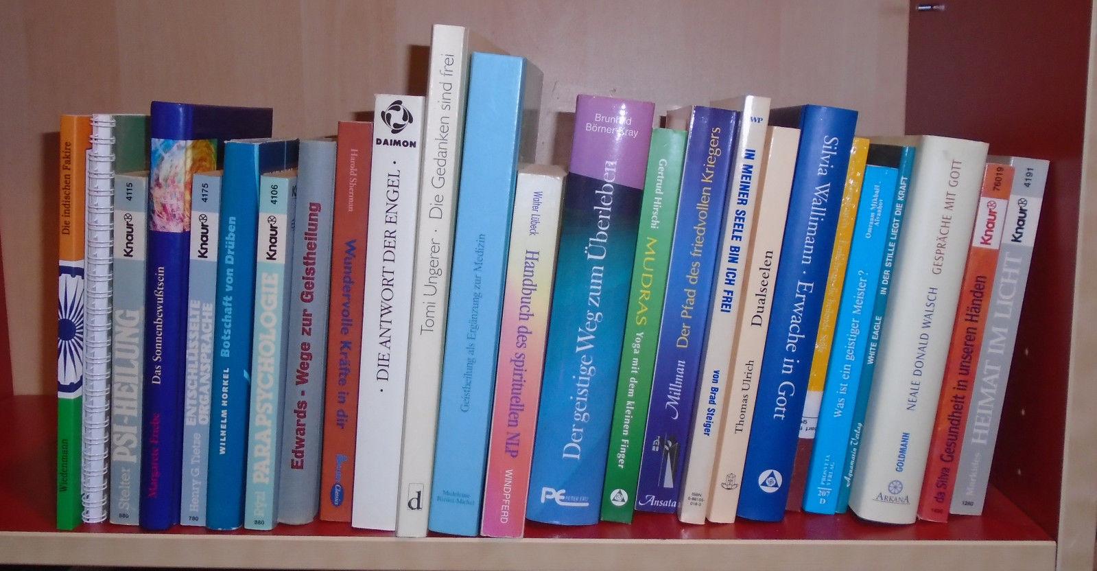 24 Bücher über Esoterik/Geistheilung/Spiritualität etc.