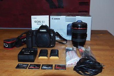 Canon EOS 5D Mark III KIT mit Zubehörpaket - wenig Auslösungen!