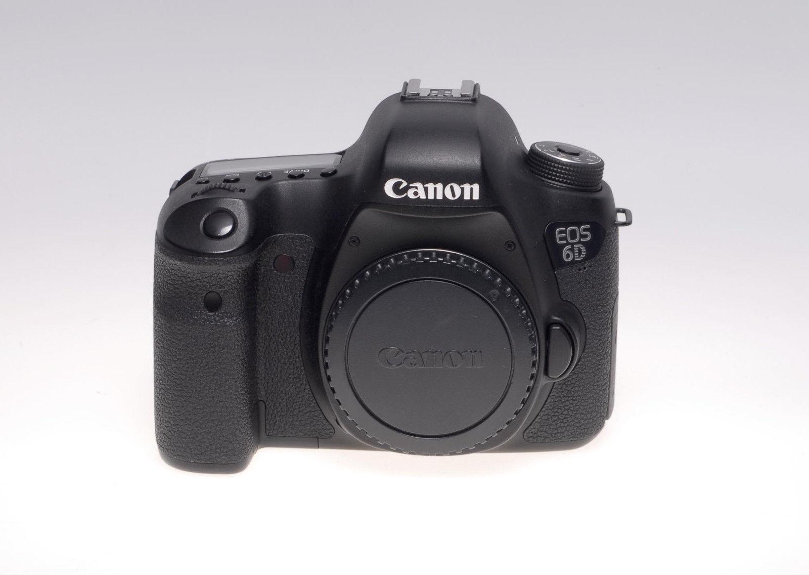 Canon EOS 6D SLR-Digitalkamera - Schwarz (Nur Gehäuse) - gebraucht