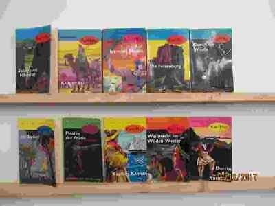 Karl May 58 Bücher Romane Western Westenromane Indianerromane