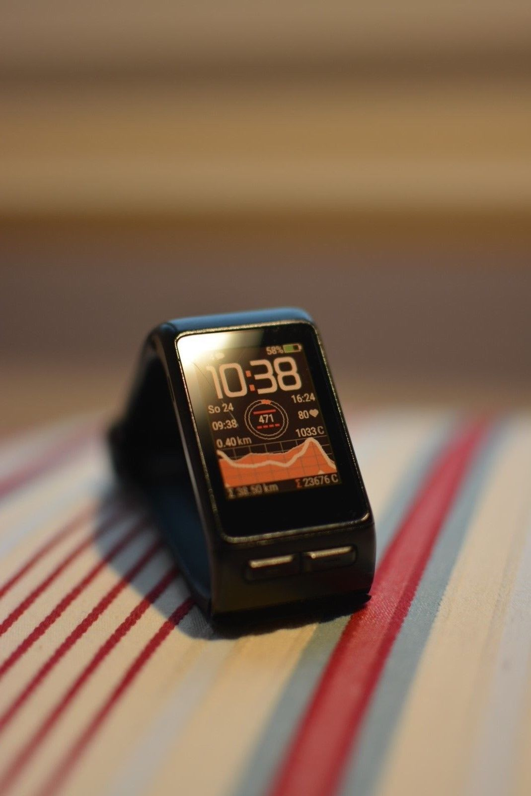 *TOP* Garmin vívoactive HR GPS-Smartwatch (integr. Herzfrequenzmessung) via DHL