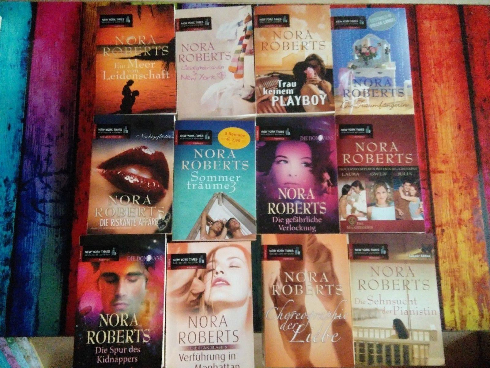 NORA ROBERTS  12 Taschenbücher
