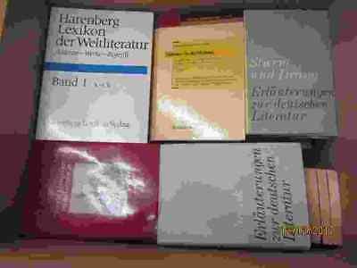 44 Bücher Literatur Lexikon der Weltliteratur Erläuterungen zur Weltliteratur